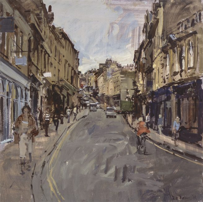 Broad Street, grey June day