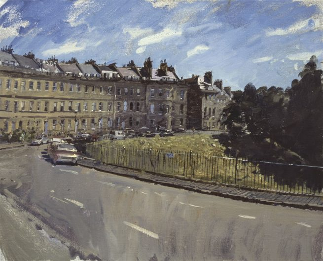 Lansdown Crescent from Midday