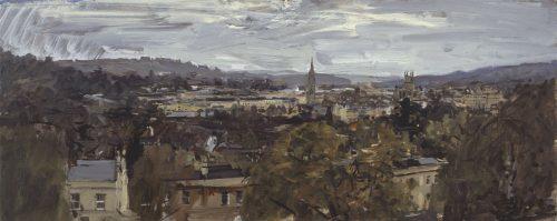 Bath from Bathwick fields, Study 6
