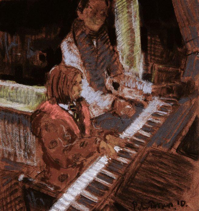 Hattie, Piano Lesson