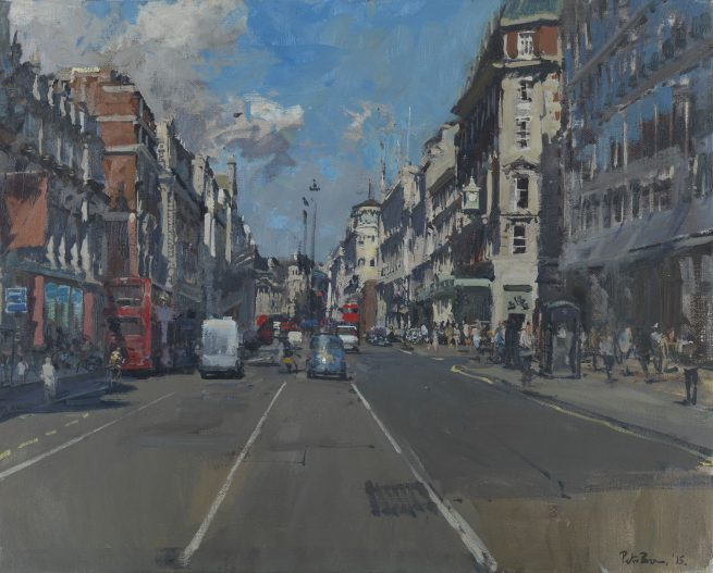 Piccadilly from the Middle, 4pm June