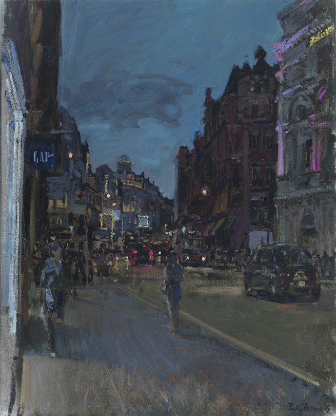 Shaftesbury Avenue, Evening