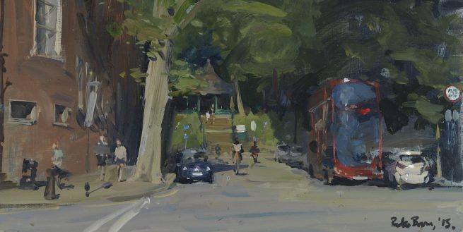 Summer Evening, Arnold Circus from Calvert Avenue