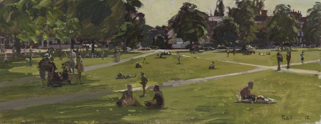 Richmond Green, Summer Afternoon