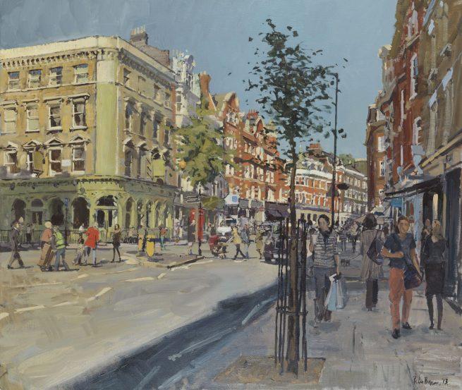 October, Marylebone High Street Looking North