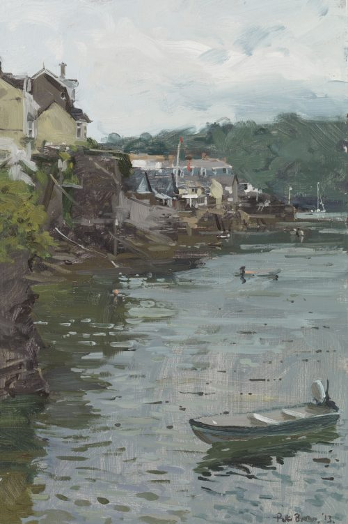 To Town Quay from Whit House Slip, Fowey