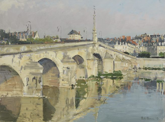 Morning, The Bridge at Blois