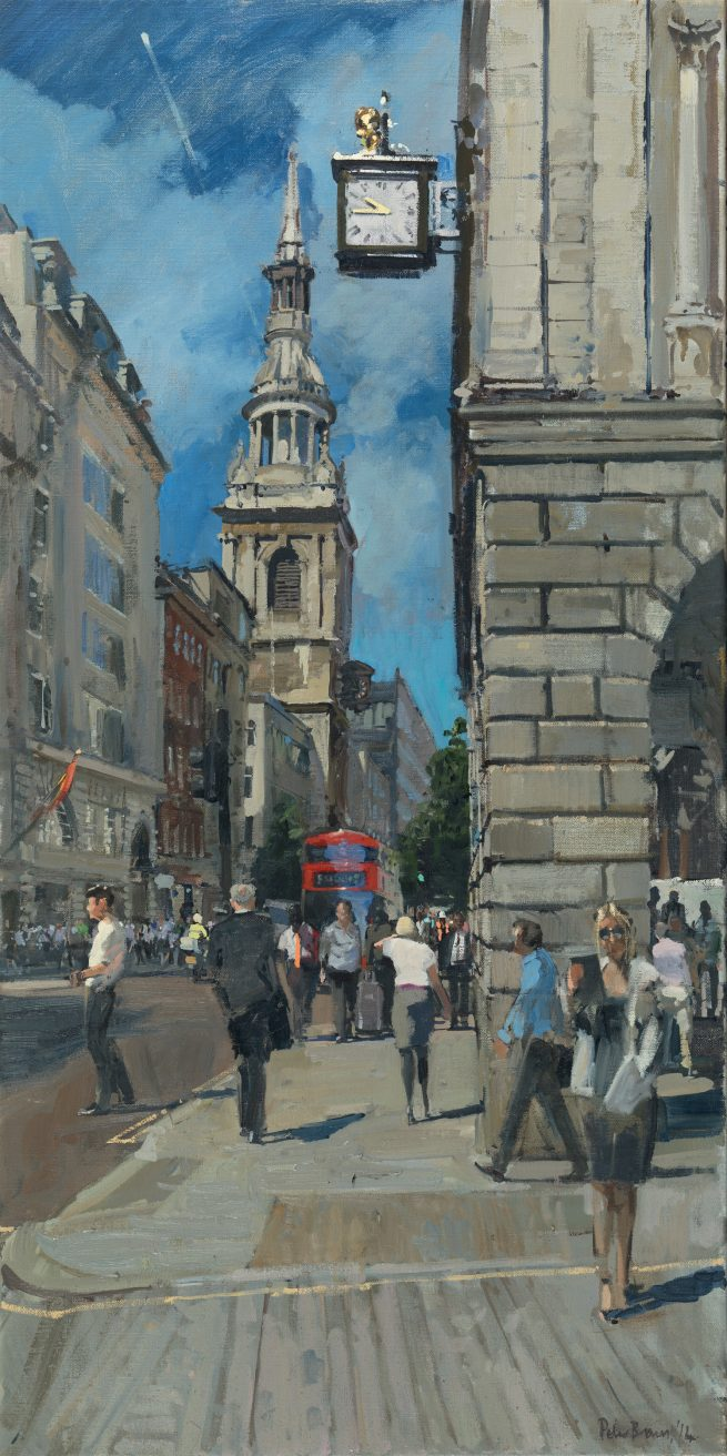 The Gleaming Clock, Cheapside