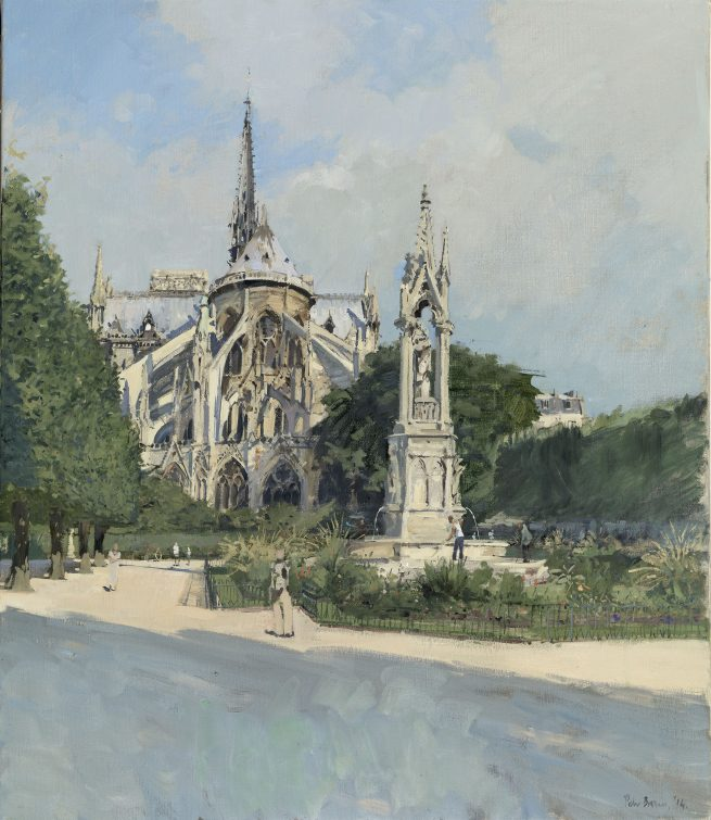 Notre-Dame, Morning