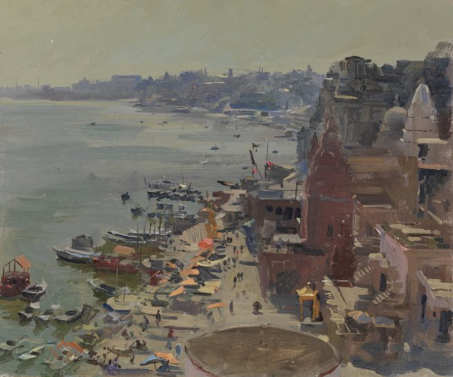 From the Roof of the Museum II, Varanassi