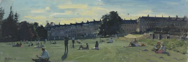 The Beach', Royal Crescent