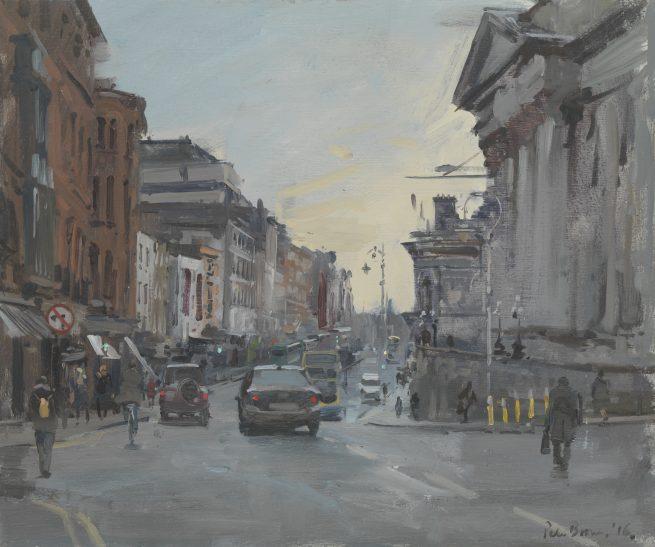 Morning, Dame Street
