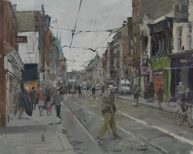 The double bass, Abbey Street