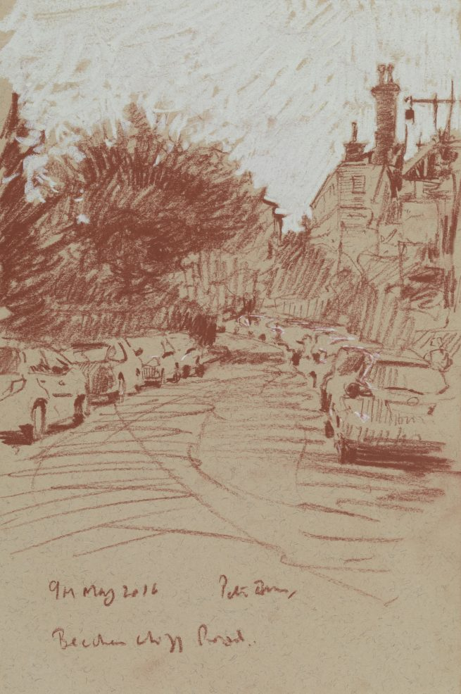 Beechen Cliff Road, Sketch 2