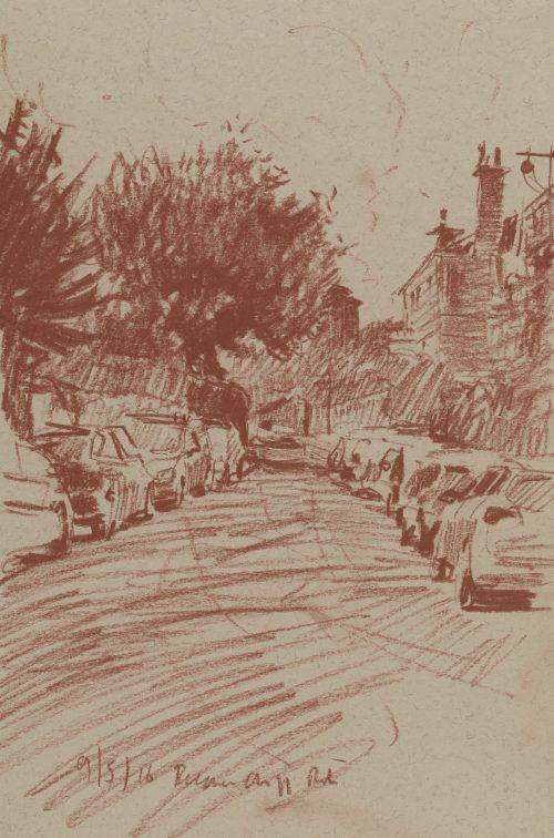 Beechen Cliff Road, Sketch 1