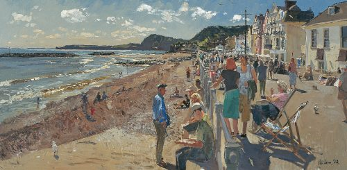 Sidmouth Seafront, Late Afternoon