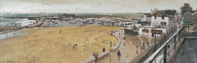 Lyme Regis, Rain