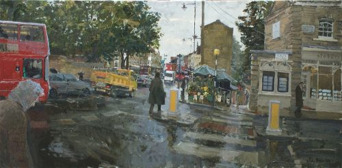 Autumn Rain, Highgate