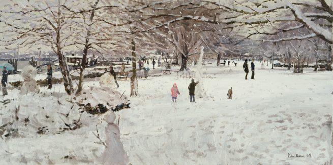 Snowmen, Hammersmith Mall