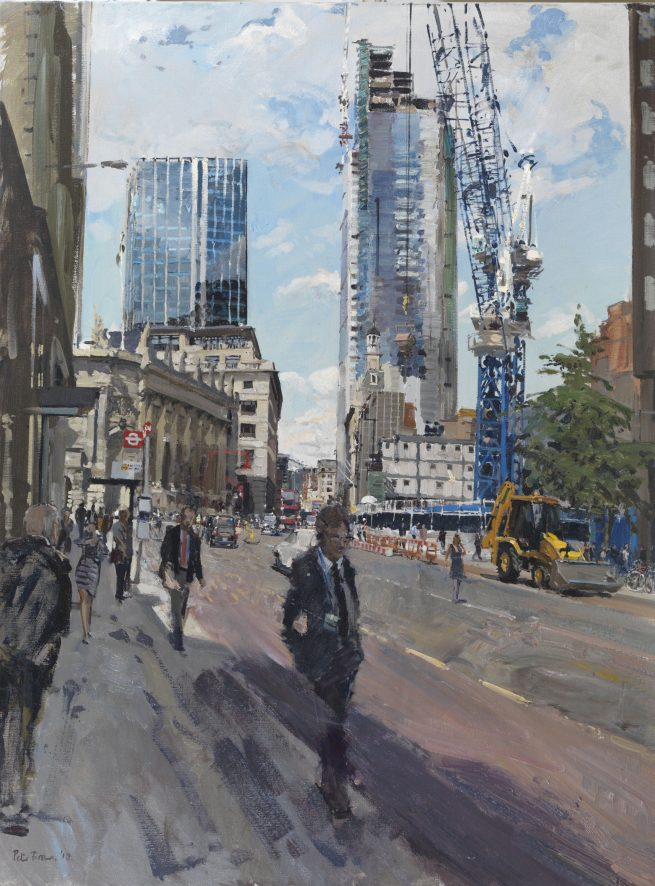 Construction of Heron Tower and the Pinnacle