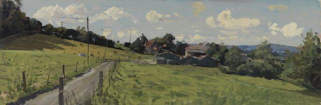 Towards Shillingstone from Allen's Farm