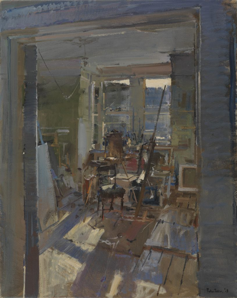 Broken Morning Light, the Studio, Summer 2018