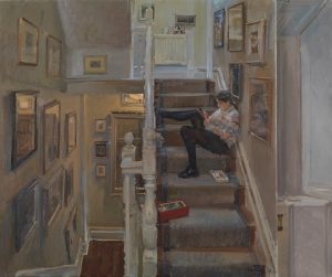 Peter Brown Christmas Jumper and DMs: Ella on the Stairs