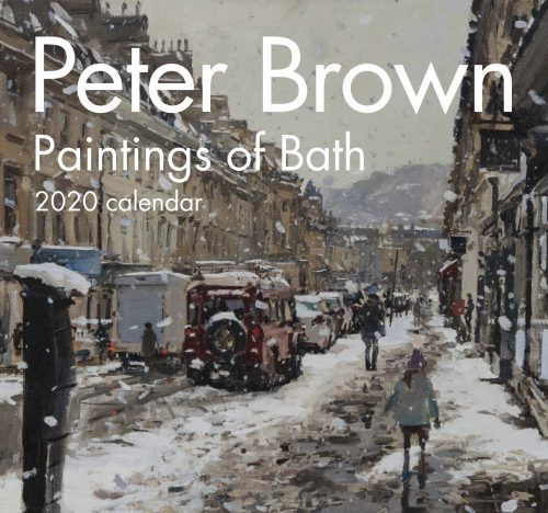 Peter Brown Paintings of Bath Calendar 2020