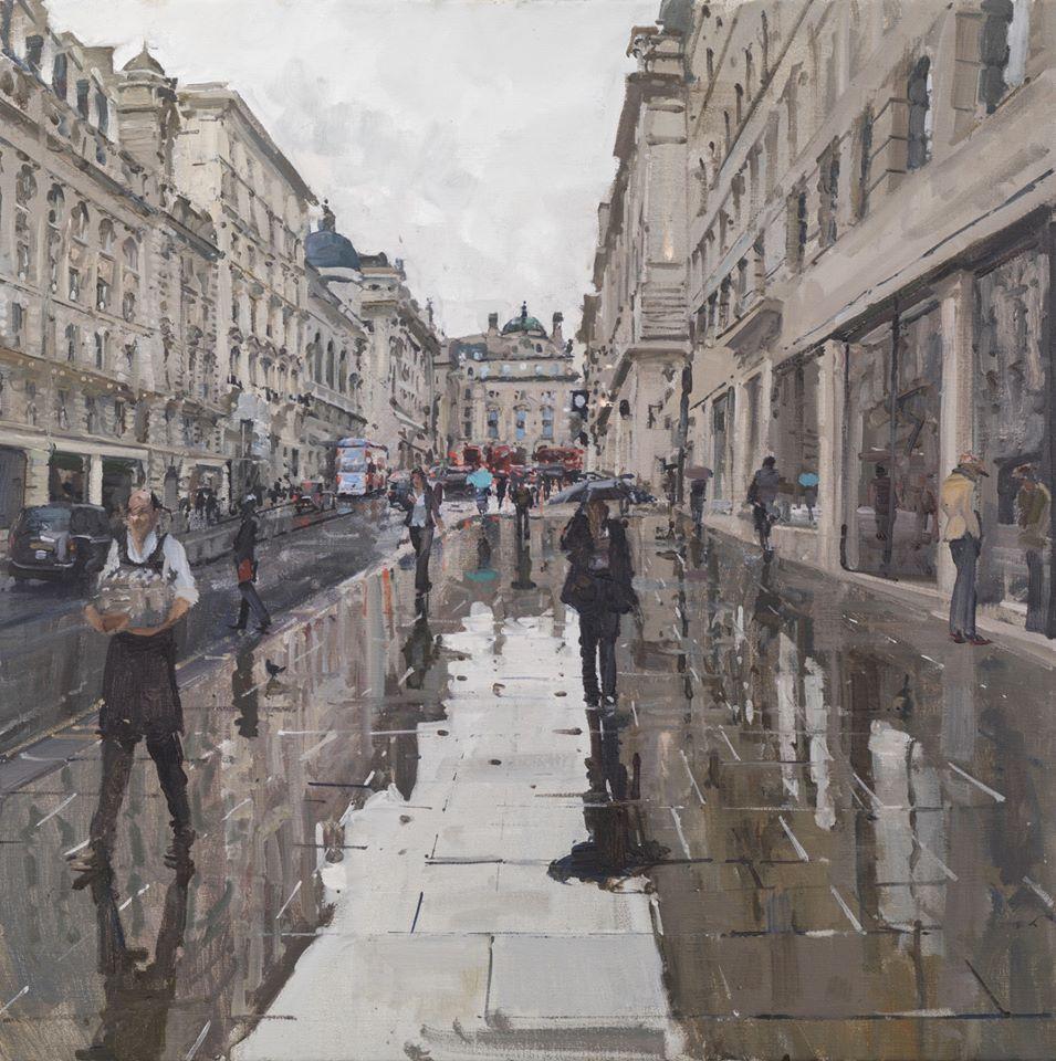 Rain, Lower Regent Street