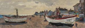 Hide and seek, Aldeburgh Beach